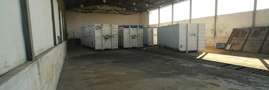 přepravní kontejnery na odpad